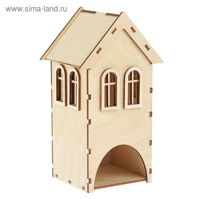 Чайный домик с 2-мя окошками (набор 9 деталей)