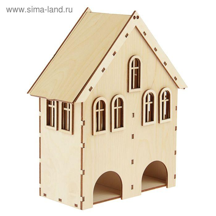 Чайный домик с окошками двойной (набор 8 деталей)