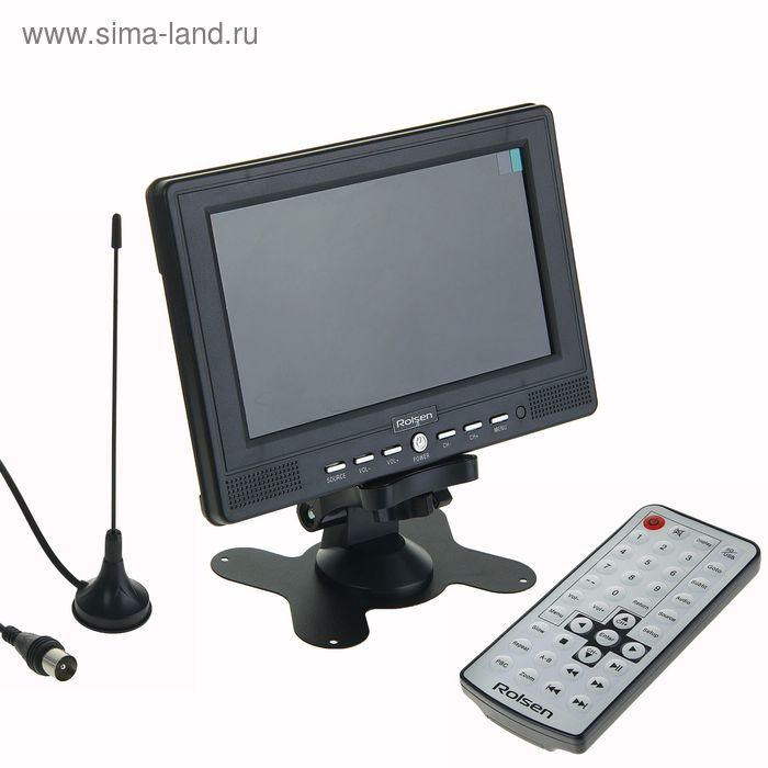 """Автомобильный телевизор Rolsen RCL-700U, экран 7"""", тв-тюнер, 16:9"""