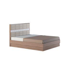 Кровать 160 СП Неаполь 1642х2042х1074 Ясень шимо темный