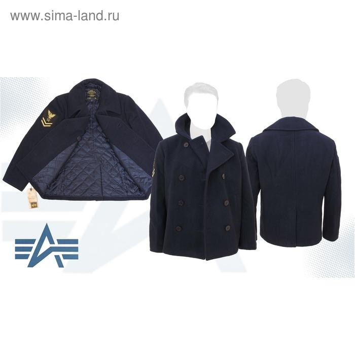 Бушлат утеплённый Captain Alpha Industries Navy, XL
