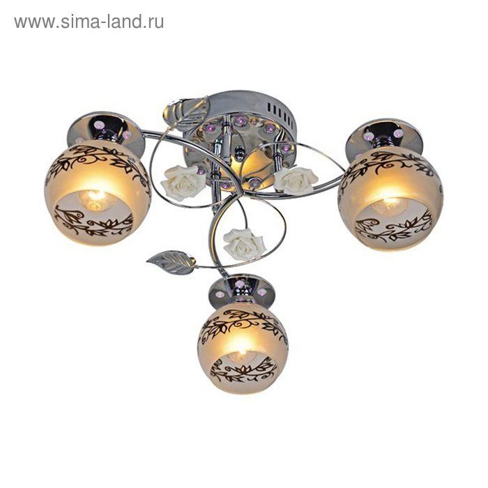 "Люстра ""Ариадна"" 3 лампы 60W Е14 хром"