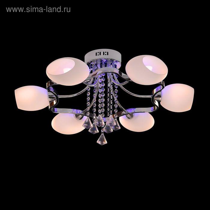 """Люстра """"Киана"""" 6 ламп 60W Е14 хром"""