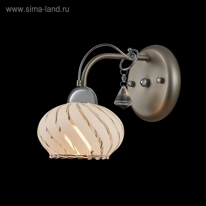 "Бра ""Ниагара"" 1 лампа 60W Е14 никель"