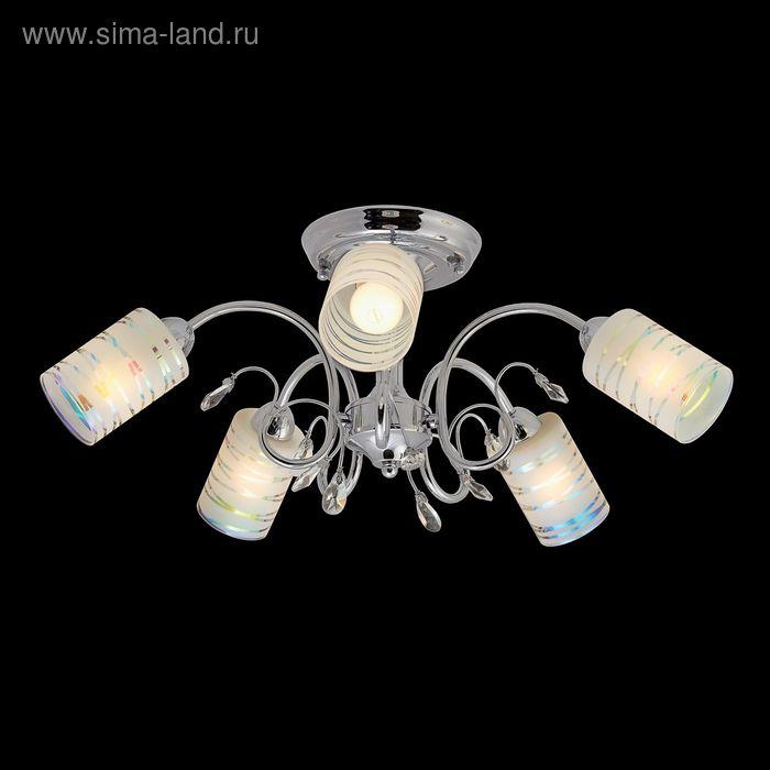 """Люстра """"Арес"""" 5 ламп Е14 хром"""