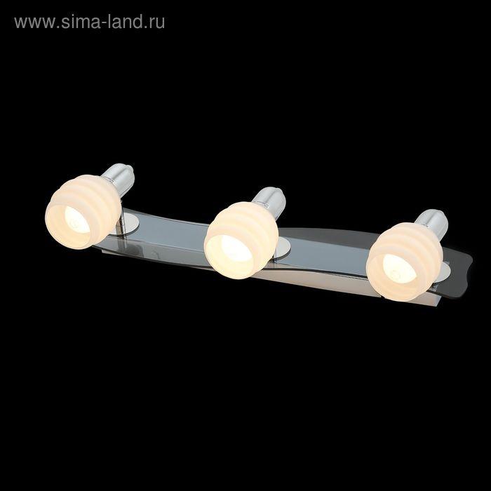 """Бра """"Дана"""" 3 лампы 60W Е14 хром"""
