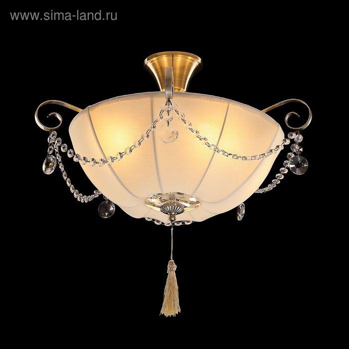 """Люстра """"Оливер"""" 5 ламп 60W Е14 античная бронза"""