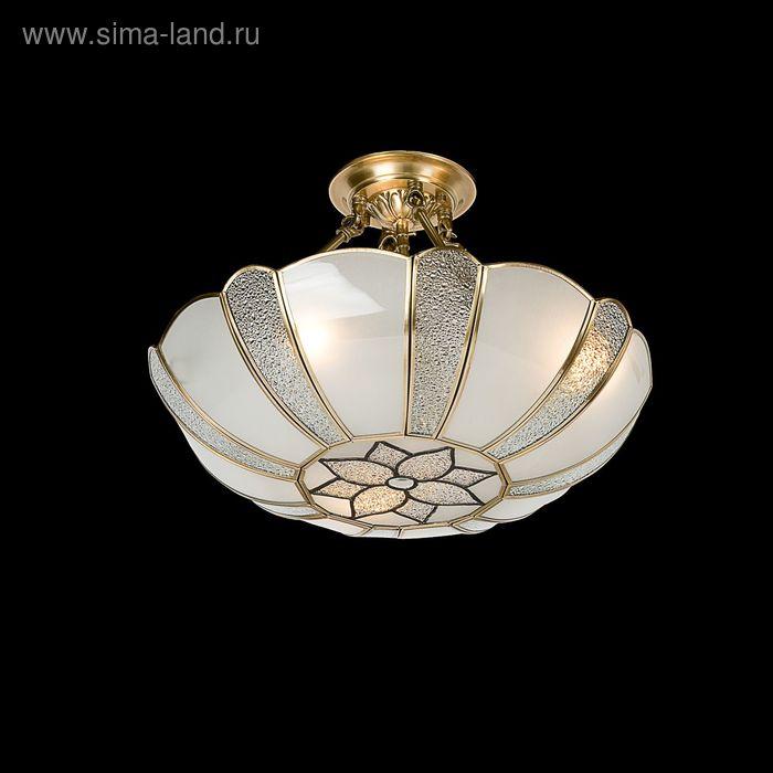 "Люстра ""Генриетта"" 3 лампы 60W Е27 бронза"