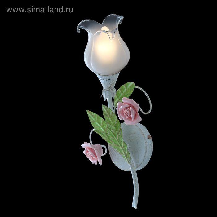 """Бра """"Ланвин"""" 1 лампа 60W Е14 зеленый"""