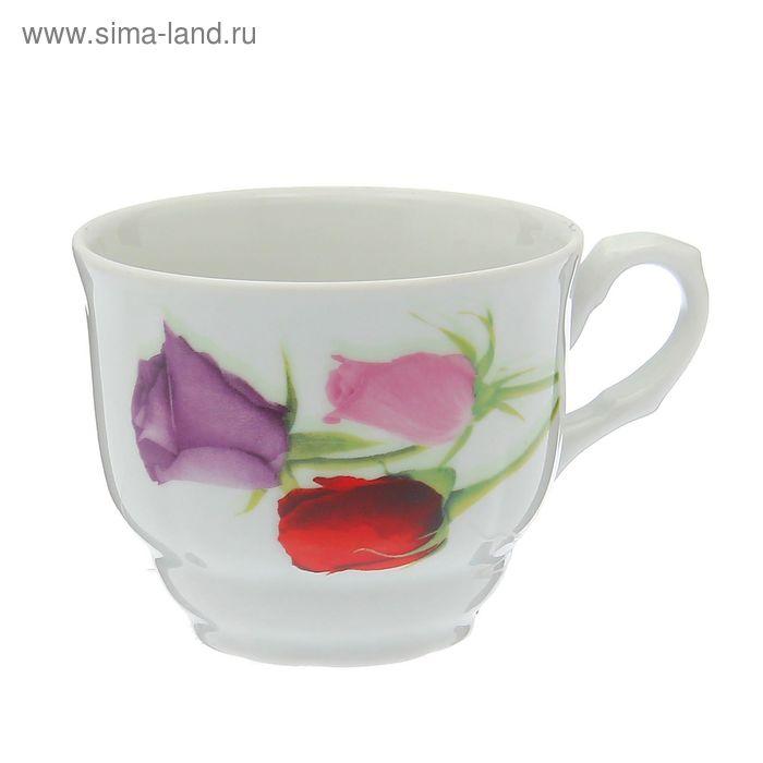 """Чашка чайная 250 мл, """"Тюльпан. Королева цветов"""""""