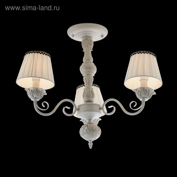 "Люстра ""Неаполис"" 3 лампы 40W Е14 белый"