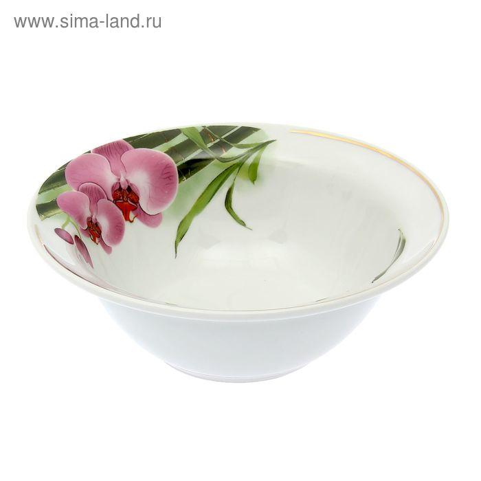 """Миска 550 мл, """"Идиллия. Бамбуковая орхидея"""""""