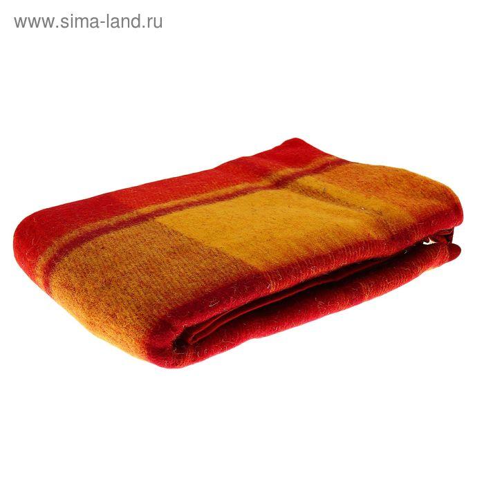 Плед Пиросмани шерстянной, 100% новозеландская шерсть 100х140 см, цв.01