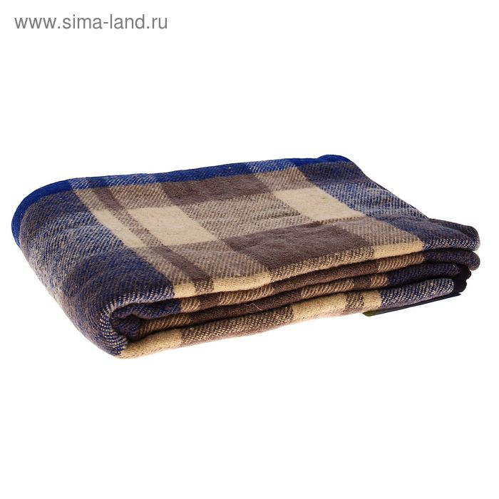 Плед Страдивари шерстянной, 100% мериносовая овечья шерсть 100х140 см, цв.06
