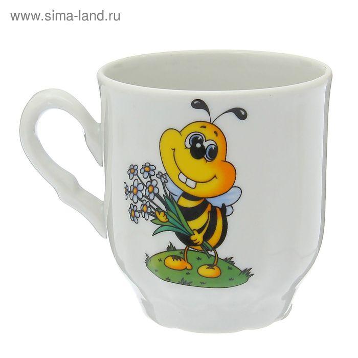 """Кружка 220 мл, """"Пчелы"""""""