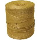 Шпагат джутовый, длина 900 м, диаметр 1,5 мм, полированный