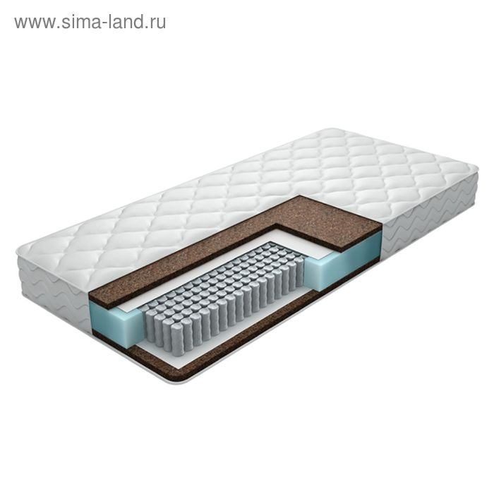 Матрас «Ляпан Люкс Комфорт», размер 180х200 см, высота 16 см, чехол жаккард