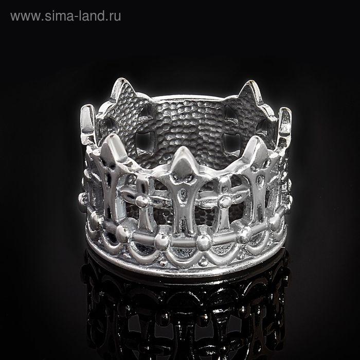 "Кольцо ""Габсбург"", размер 19, черненое серебро"