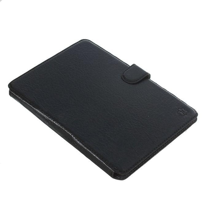 Чехол-книжка для телефона, на клейкой основе, цвет чёрный