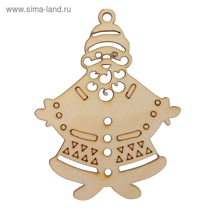 """Ёлочное украшение для декора """"Дед Мороз"""""""