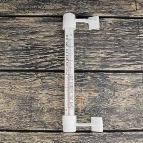 """Термометр сувенирный наружный (оконный) на """"липучке"""", упаковка картон"""