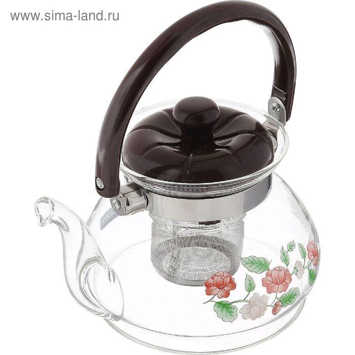 Чайник заварочный 800 мл, с ситечком