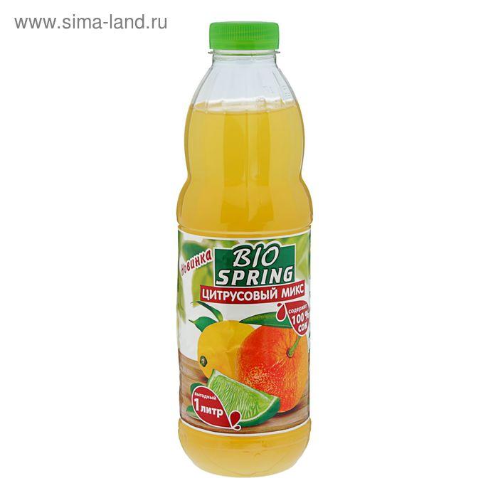 Напиток сокосодержащий Bio Spring Цитрусовый микс 1л
