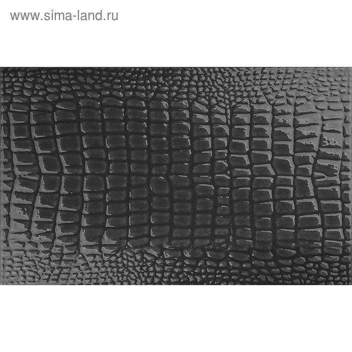 Облицовочная плитка Люкс черный 50х31см 11-11-04-121 (в упаковке  0,93 кв.м)