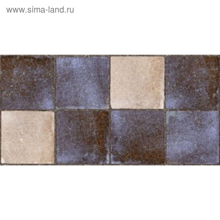 Облицовочная плитка Лофт синий темный 08-11-66-740 40х20см (в упаковке 1,28 кв.м)