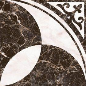 Плитка напольная Пастораль черный 38,5х38,5см 16-01-04-460 (в упаковке 0,88 кв.м)