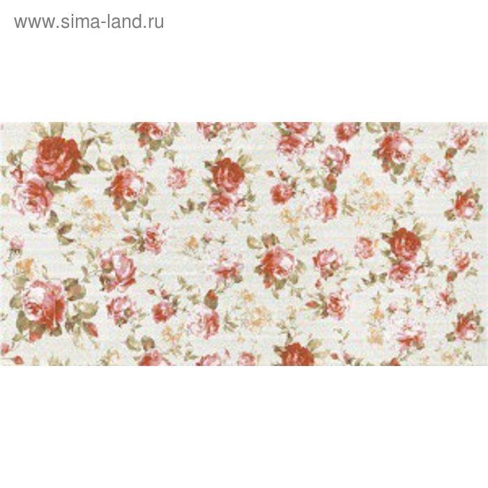 Облицовочная плитка Жардин салатный(розочки)10-10-81-532 50х25см (в упаковке 1 кв.м)