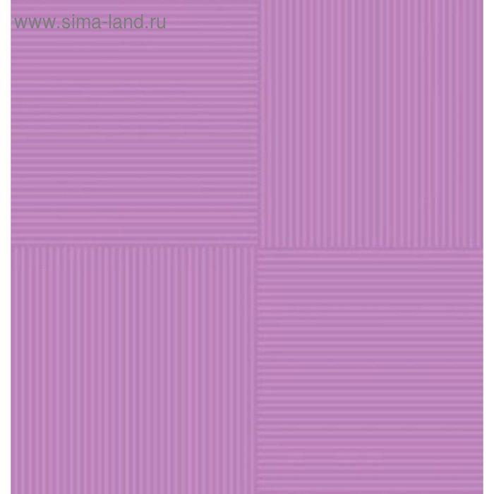 Плитка напольная Кураж-2 фиолетовый 30х30см 12-01-55-004 (в упаковке 0,99 кв.м)