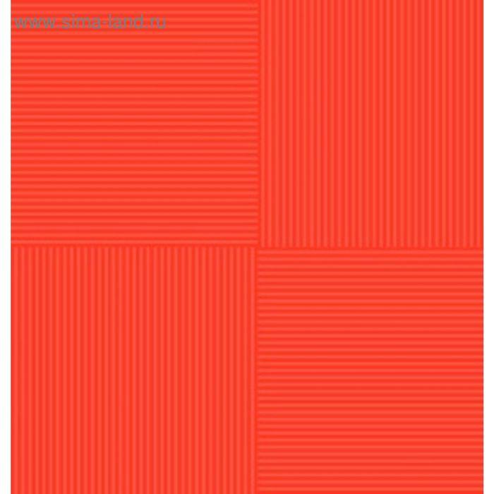 Плитка напольная Кураж-2 красный 30х30см 12-01-45-004 (в упаковке 0,99 кв.м)
