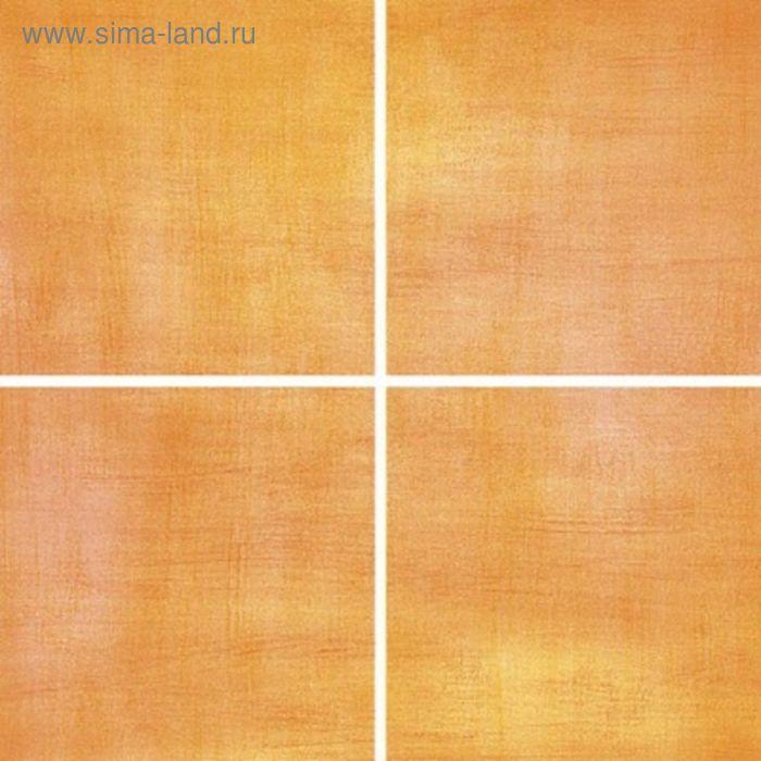 Облицовочная плитка Акварель оранжевая (Палитра) 20х20см 04-11-35-038 (в упаковке  1 кв.м)
