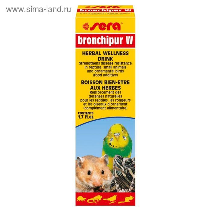 Кормовая добавка Sera bronchipur W, 50 мл