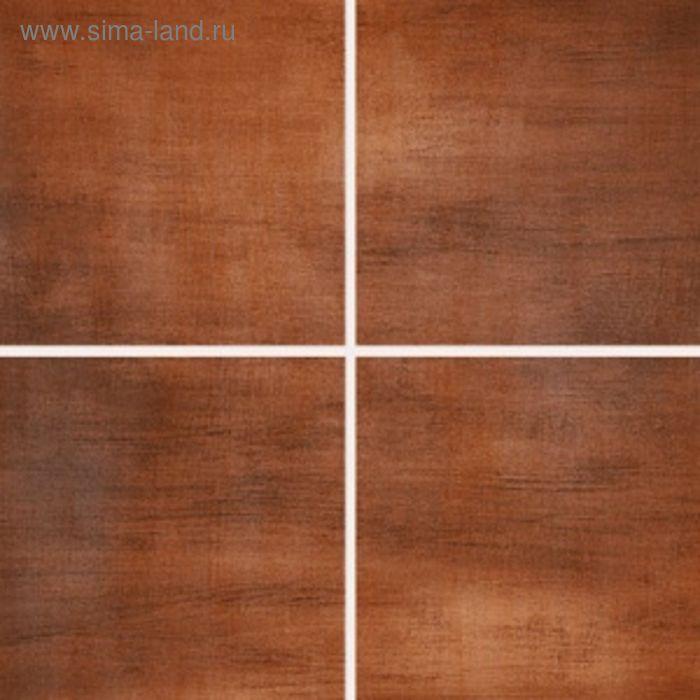 Облицовочная плитка Акварель коричневая (Палитра) 20х20см 14-11-15-038 (в упаковке  1 кв.м)   160588