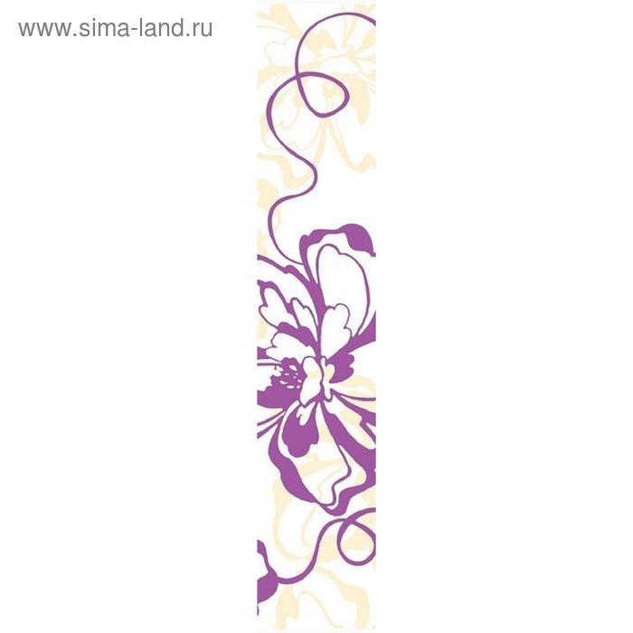 Бордюр 40х7,5см Кураж-2 фиолетовый Монро фиолетовый 76-00-55-050