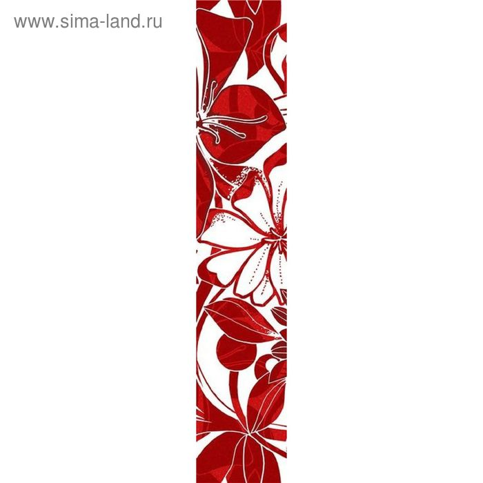 Бордюр 40х7,5см Кураж-2 красный Жаклин красный  76-00-45-084