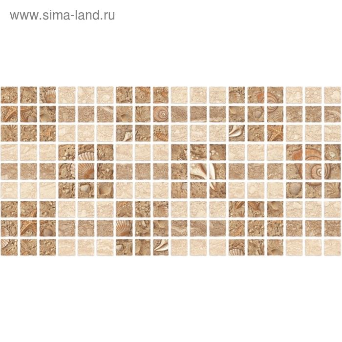 Декор 50х25см Аликанте бежевый  10-31-11-119 (10-11-