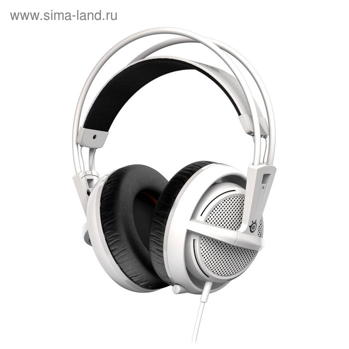 Гарнитура SteelSeries Siberia 200 White, белая