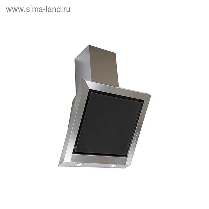 Вытяжка Elikor Гранат GLASS S4 60Н-700-Э4Г, нержавейка/стекло чёрное