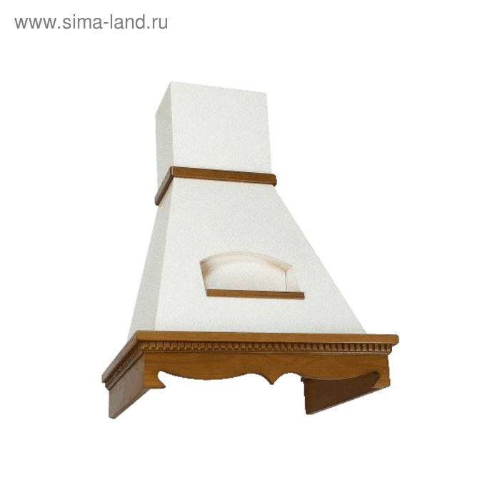 Вытяжка Elikor Бельведер 90П-650-П3Г, золотой антик/бук светло-коричневый