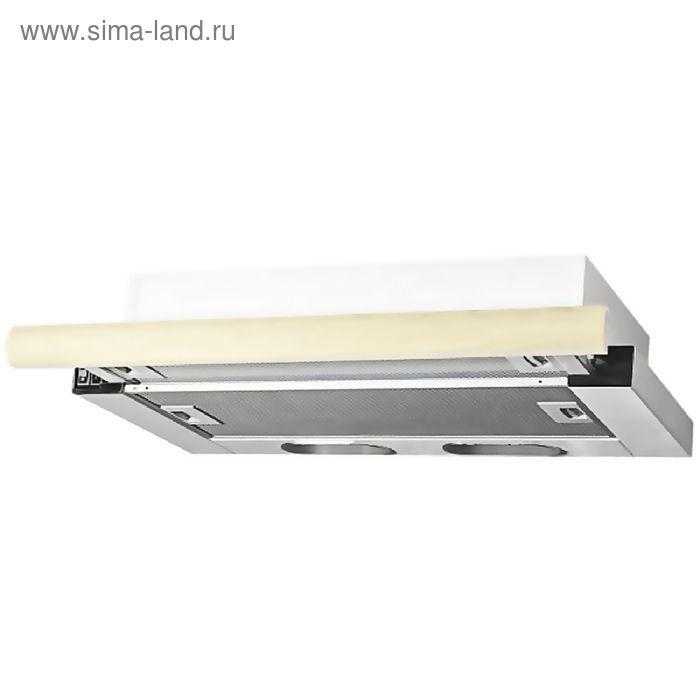 Кухонная вытяжка ELIKOR Интегра 60П-400-В2Л, белая/дуб белый, патина