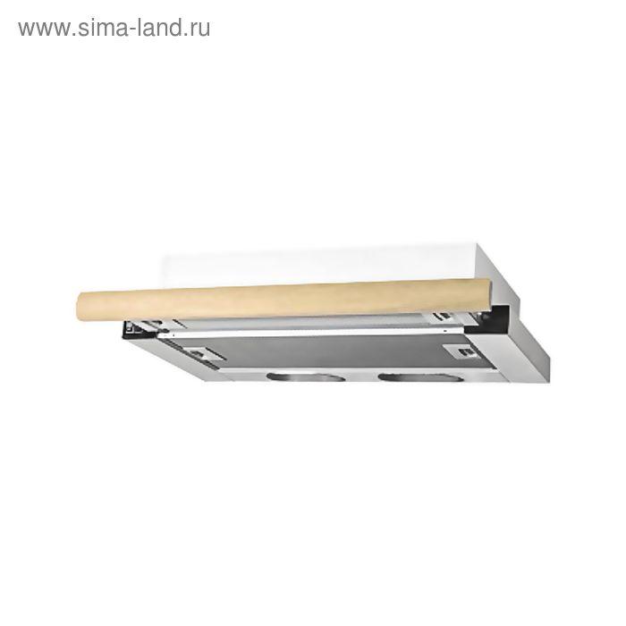Кухонная вытяжка ELIKOR Интегра 60П-400-В2Л, белая/дуб неокрашенный