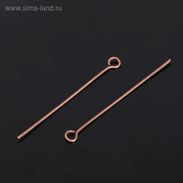 Штифт FMK-S03 набор 50шт, №02 под античную медь