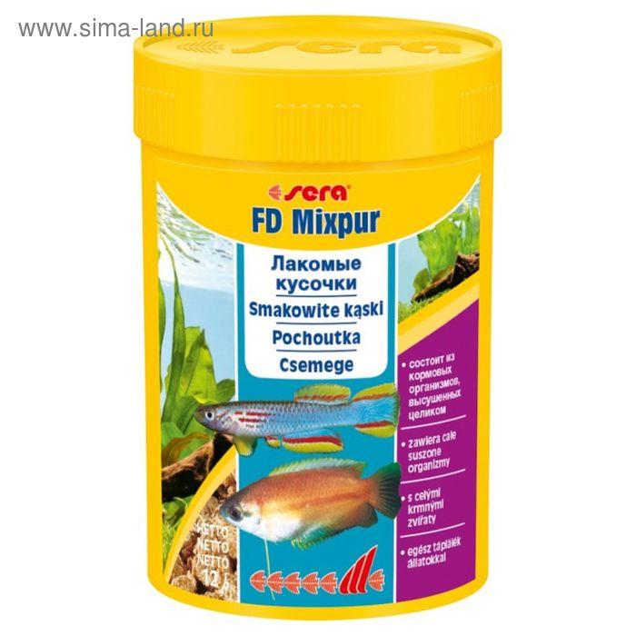 Корм для рыб универс. деликатес Sera FD Mixpur 100 мл, 12 г.