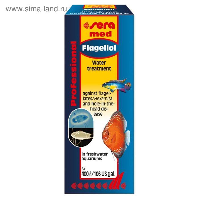 Кондиционер для аквариумной воды Sera med Professional Flagellol, 10 мл.