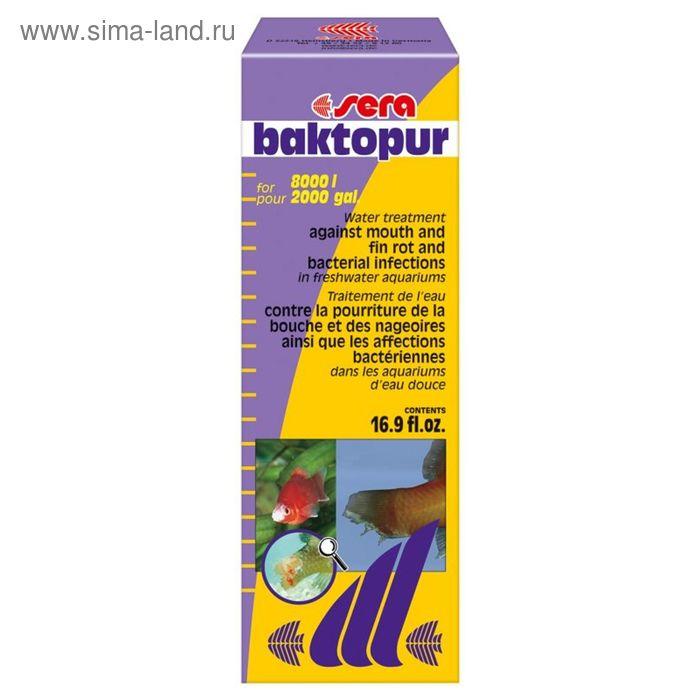 Кондиционер для аквариумной воды Sera sera baktopur, 500 мл.