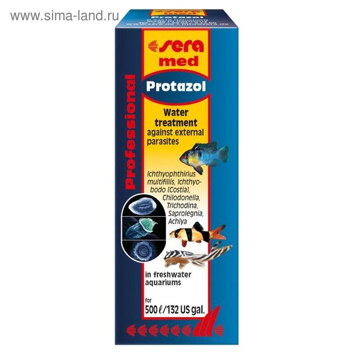 Кондиционер для аквариумной воды Sera med Professional Protazol, 25 мл.