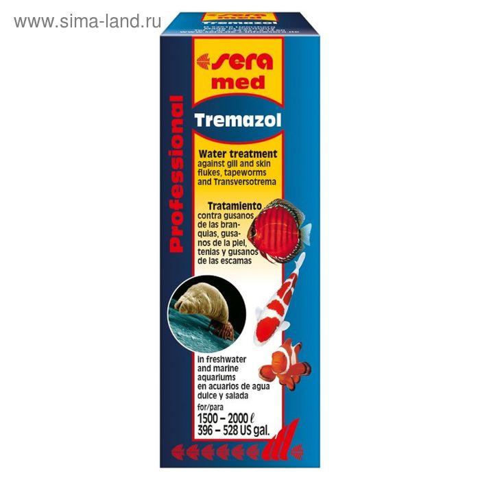 Кондиционер для аквариумной воды Sera med Professional Tremazol, 100 мл.